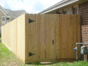 New Wood Fencing and Picket