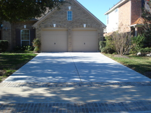 Custom Driveways and Concrete Sidewalks
