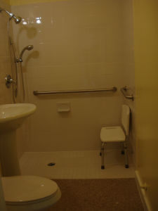 ADA Compliant Bathroom - Grab Bars, Sinks, Showers - Katy, TX