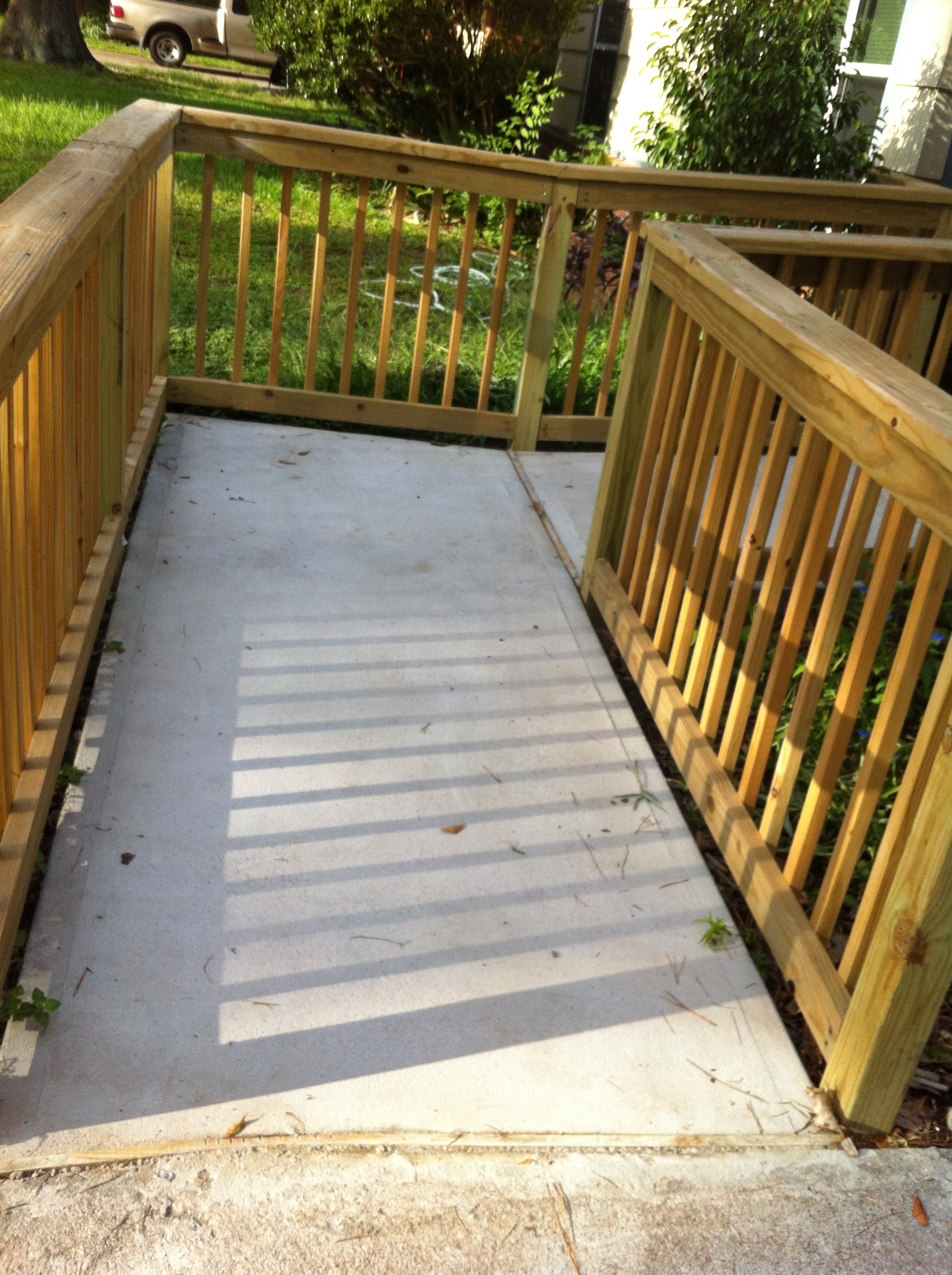 ADA Compliant Wheelchair Ramps B C Construction Remodeling Katy Texas