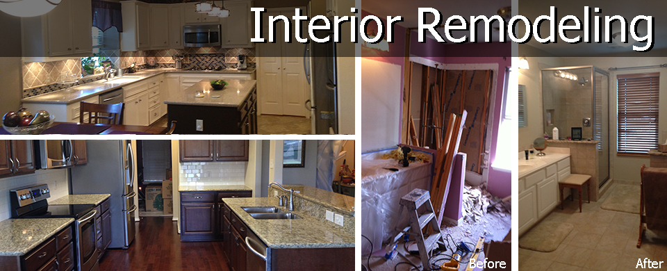 Residential Interior Remodeling - Katy TX