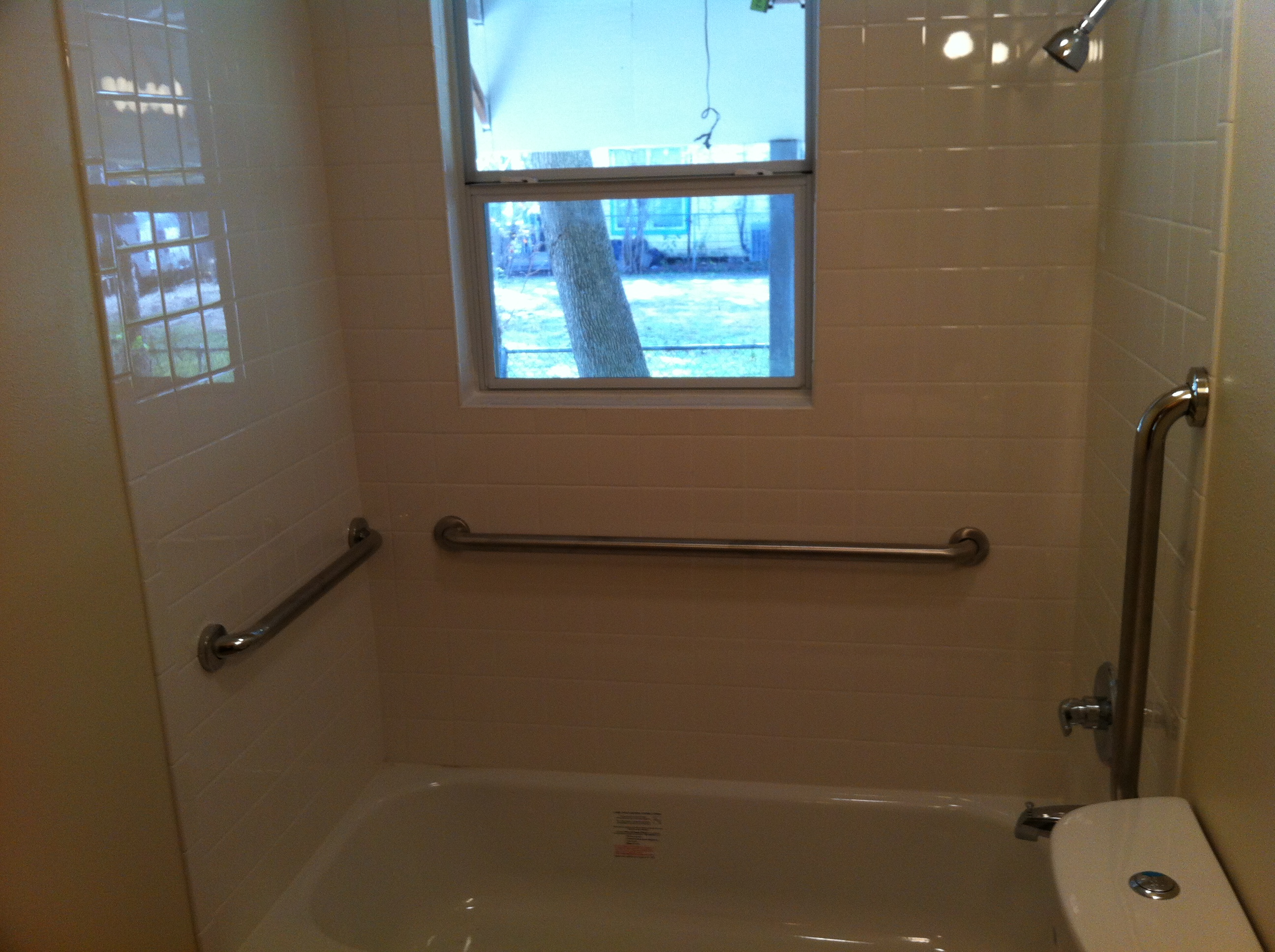 Tub Grab Bar Location b-c construction - remodeling katy texas | ada compliant bathrooms