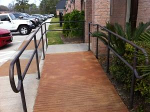 ADA Compliant Wheelchair Ramps Installation - Katy, TX